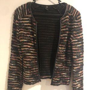 Colourful winter jacket/blazer